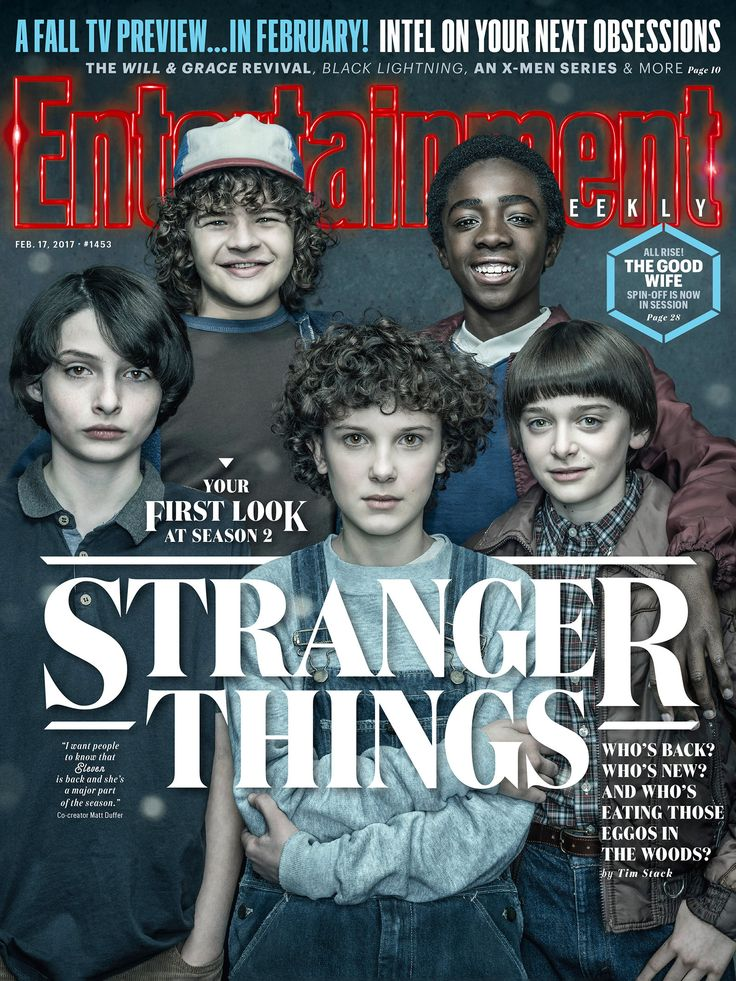 Eleven's Hair Rules 'Stranger Things' Season 2 First Look Cover Story
