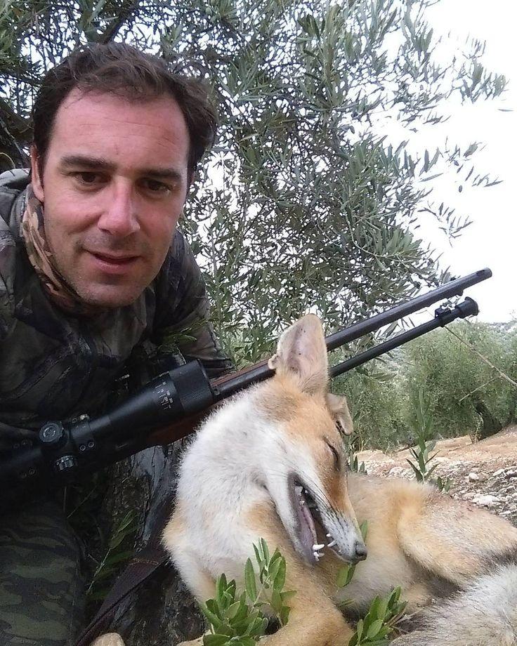 Rececho de zorro. Fox Hunting. #hunt #hunter #foxhunting #caza #cazando #zorro #sinfiltros http://misstagram.com/ipost/1553246543317190506/?code=BWOPYBvBkdq