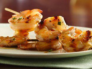 Grilled Honey-Butter Shrimp Recipe