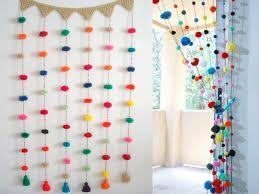 Resultado de imagen para borlas de lana decoracion