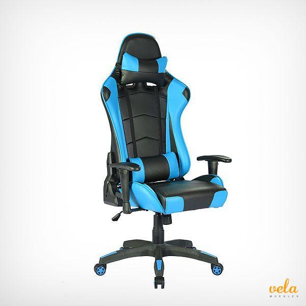Impresionante silla gamer con todas las prestaciones y para echarle horas jugando. Mira que precios