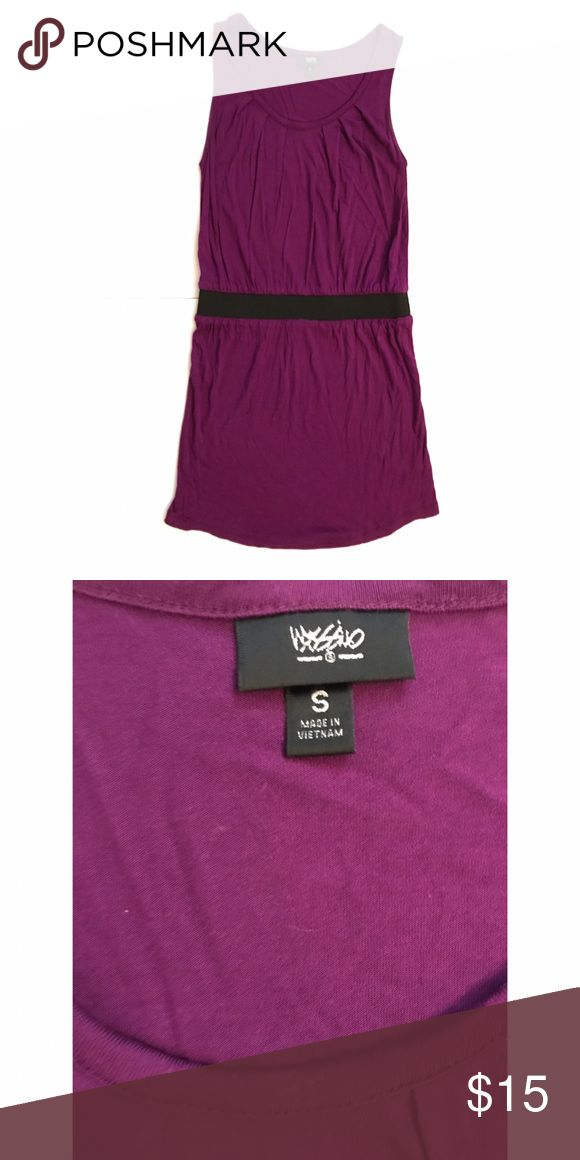 Purple Dress Plum cotton dress with elastic waistband. Great for a night out, or as a coverup for the pool/beach! Mossimo Supply Co Dresses Mini