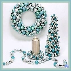 There are several ways to make a Christmas Wreath out of ball ornaments and this Christmas Wreath Tutorial will show you how easy it is to do...