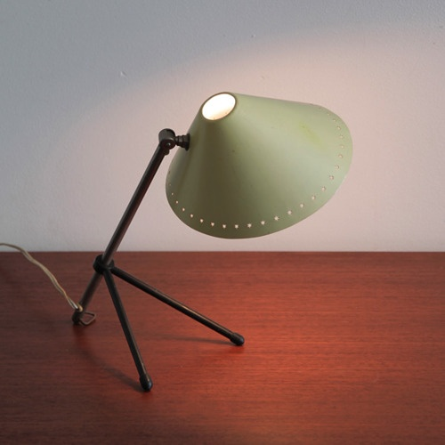 Pinocchio table or wall lamp, designed in 1956 by H.Th.A. Busquets for Hala Zeist.