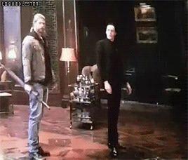 I absolutely LOVE Loki's magic daggers‼️⚔️⚔️<<<< Thor is like bro calm down