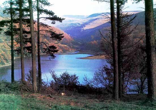 Peak District National Park, Derbyshire, UK.