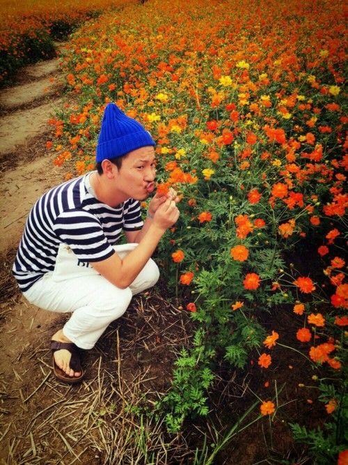 こんにちは! 10月ですね!🎃 今日はコスモス畑を見に行ってきました! 黄花コスモスが満開で、 オ