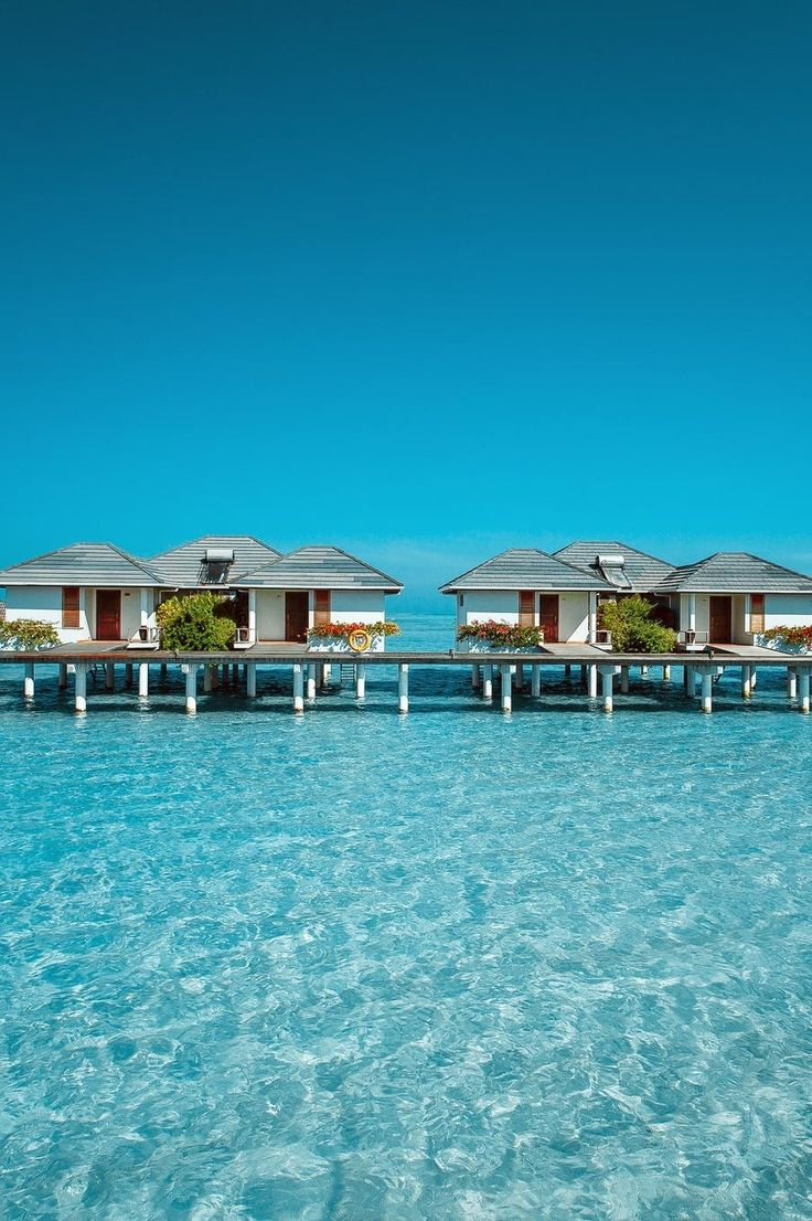 / house on the water ~ Maldives /