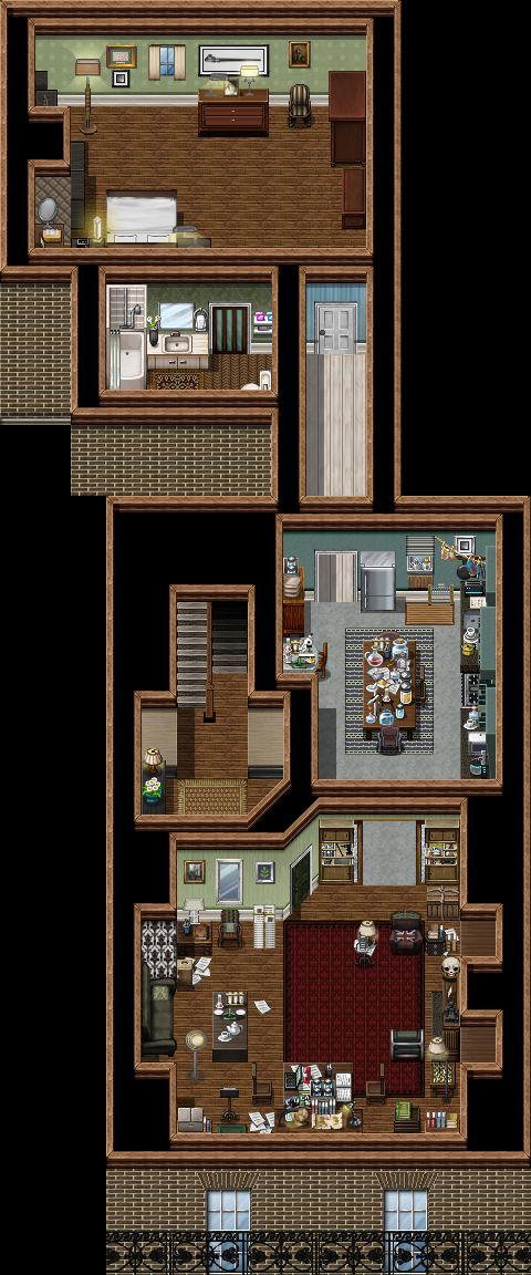 221B Baker Street - 1st Floor Flat by SherlockTheGame