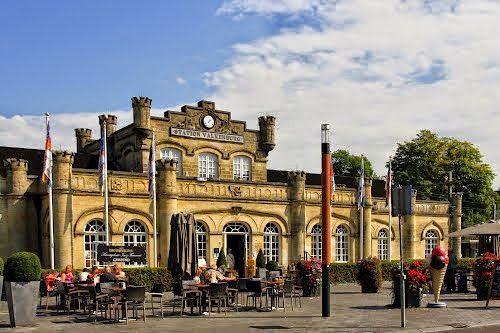 het oudste station van Nederland in Valkenburg