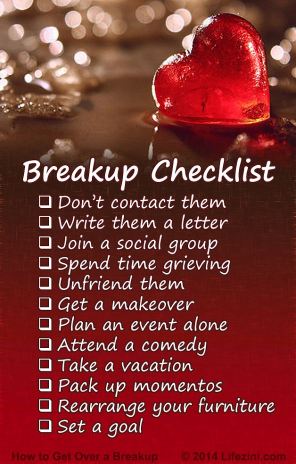 How to Get Over a Breakup. 12 Tips for Healing a Broken Heart | Lifezini