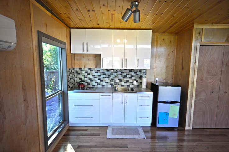 A modern and modular 14' x 24' cabin from Kanga Room Systems!