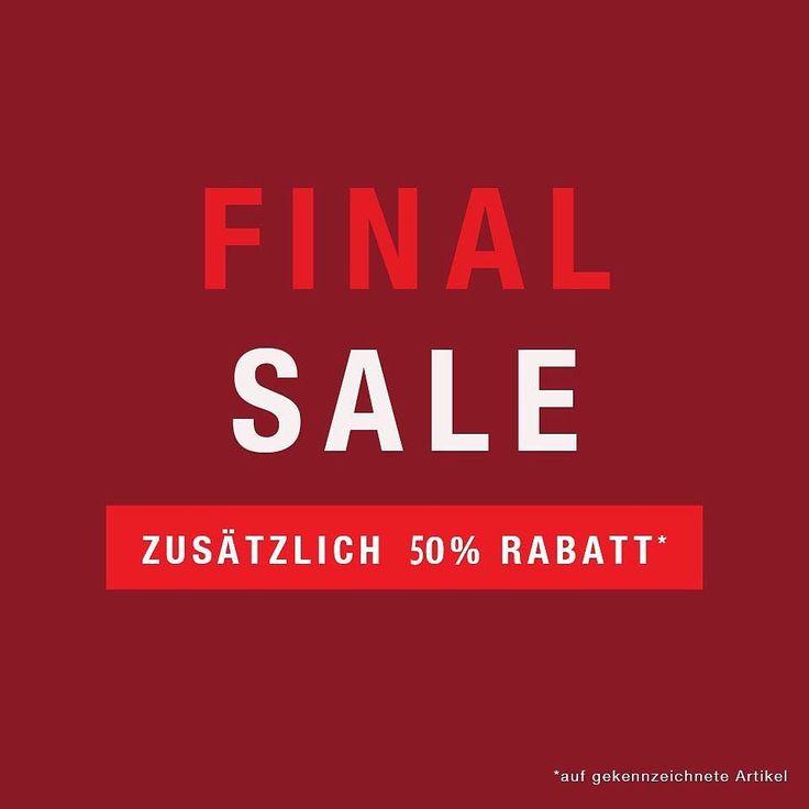 %% Final Sale %% %% SALE %% SALE %% SALE %% 50% reduziert shoppen!