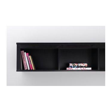 IKEA HEMNES wall/bridging shelf Solid wood has a natural feel.