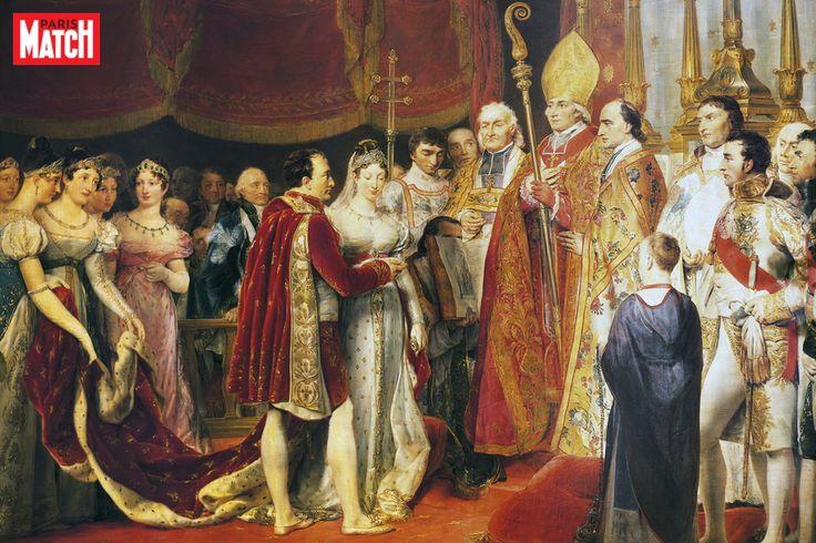 Royale histoire - Le jour où... Les deux épouses de Napoléon Bonaparte partagèrent un même manteau: celui du sacre de Joséphine qui échut sur les épaules de Marie-Louise le jo... http://www.parismatch.com/Royal-Blog/royaute-francaise/Marie-Louise-d-Autriche-epousa-Napoleon-paree-du-manteau-de-Josephine-1224200 Check more at http://www.parismatch.com/Royal-Blog/royaute-francaise/Marie-Louise-d-Autriche-epousa-Napoleon-paree-du-manteau-de-Josephine-1224200