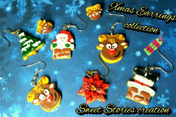 Check out this item in my Etsy shop https://www.etsy.com/listing/214637004/christmas-themed-earrings-christmas