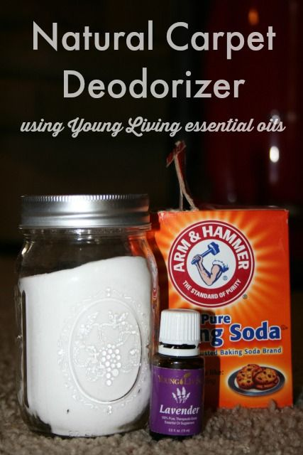 Natural Carpet Deodorizer using Young Living essential oils!! Chose Lavender for this batch, but Purification would be excellent.  For more info: http://adropatathyme.com/natural-carpet-deodorizer/