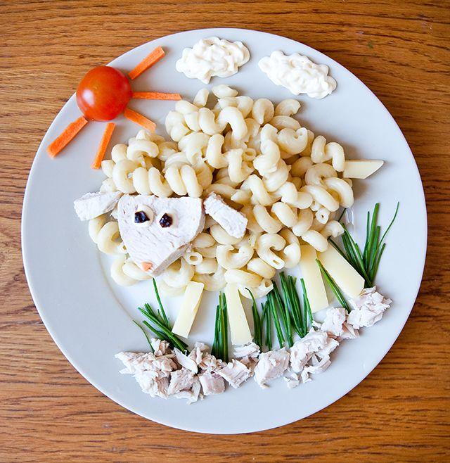 Еда для малыша должна быть не только вкусной и полезной, но и красивой. Даже макароны с мясом и сыром можно подать очень необычным способом!