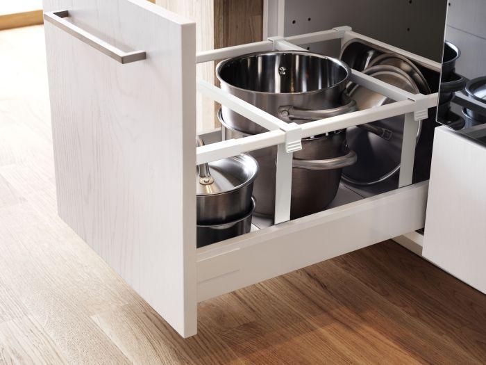 MAXIMERA verdeler | #IKEA #DagRommel #keuken #lades #lade #keukenkastje #pannen