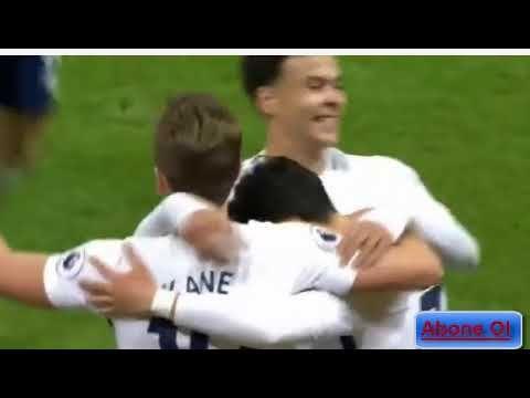 Cenk Tosun'un Takımı 4-0 Mağlup   Tottenham-Everton HD Maç Özeti