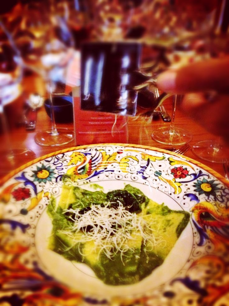 "Fancy for a plate of the Bene's most popular dish ""Ravioli Ricotta e Spinaci"" on a relaxing Saturday?"