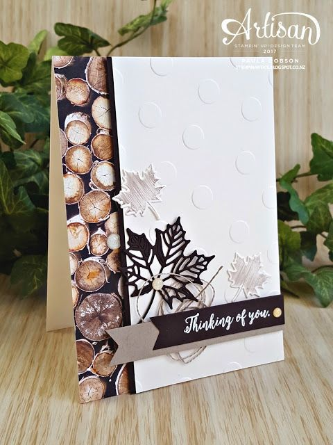 Stamp to Share blog hop featuring the Colorful Seasons stamp set and Seasonal Layers Thinlits Die - Paula Dobson #pauladobson #stampinantics #colorfulseasonsstampset #stamptoshare
