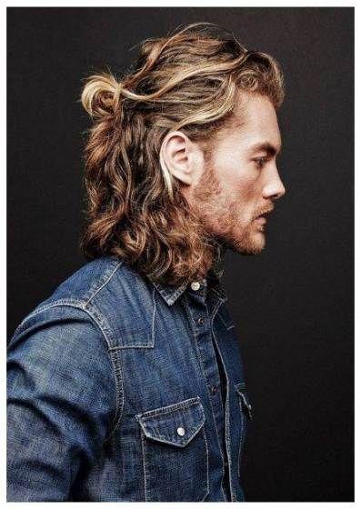 45 Bild Frisuren Fur Manner Mit Langen Haaren Braidfrisuren Flechtfrisuren Frisuren Fu In 2020 Lange Lockige Haare Lange Frisuren Fur Manner Lange Haare Manner