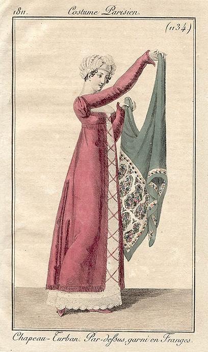 Costume Parisien (1134), 1811.