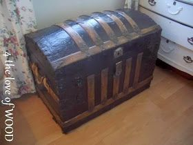 45 Best Antique Trunks Images On Pinterest For The Home