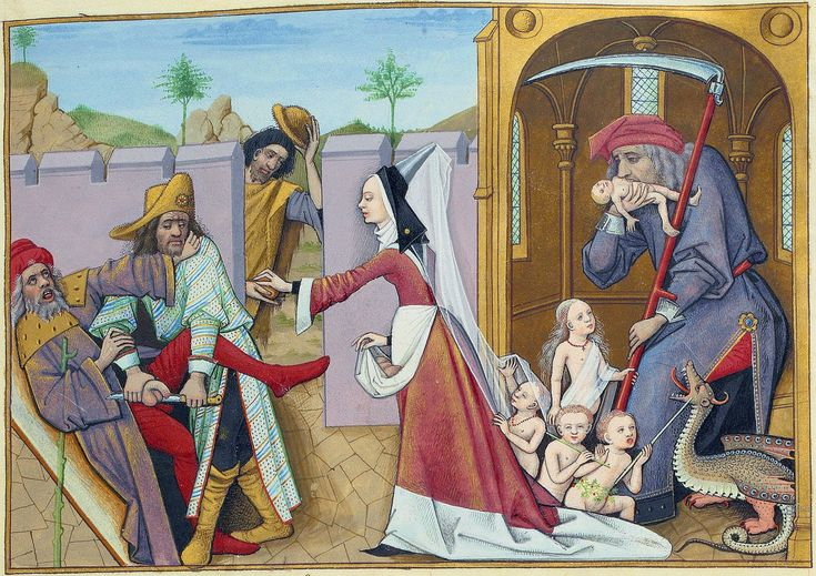 тот цвет средневековые будни картинки зверь