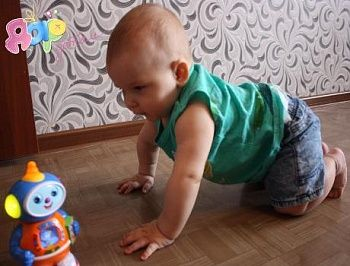 Снижение зрения у детей первого года жизни