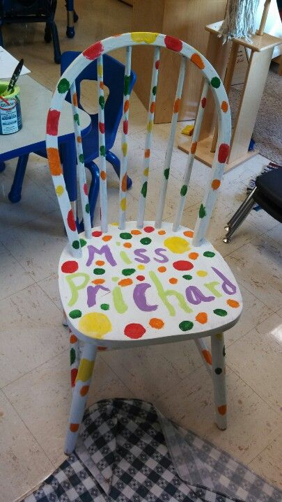 153 Best Images About Birthday Chairs On Pinterest
