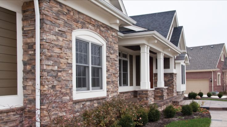 128 Best Images About Brick Siding Stone Combos On