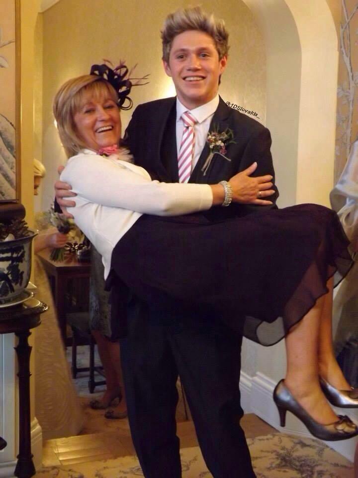 Niall and his mum Maura