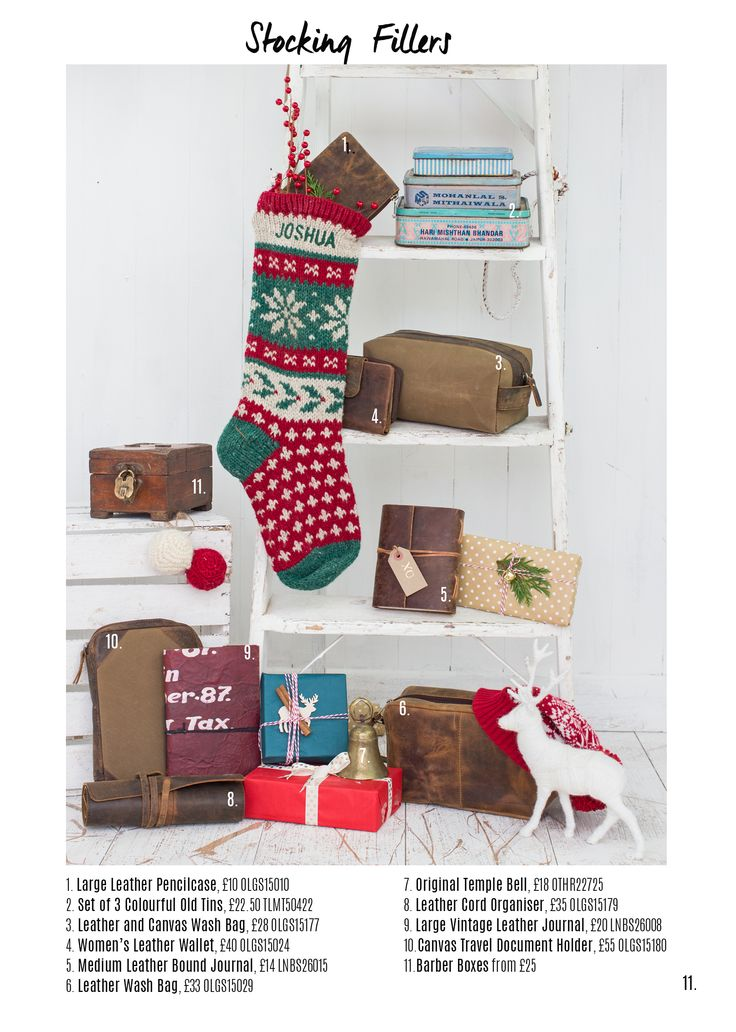 Shop our collection of affordable and unique stocking fillers, as well as leather bags for men and women + original vintage furniture