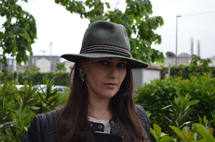 Green Vintage Hat