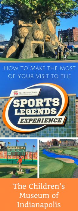 How to Make the Most of Your Visit to the Sports Legends Experience at the Children's Museum of Indianapolis, Indiana.  United States