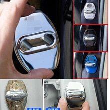 12PCS Door Lock Screw Protector Cover for Toyota Land Cruiser 200 Prado FJ150 RAV4 Corolla Camry Highlander Accessories