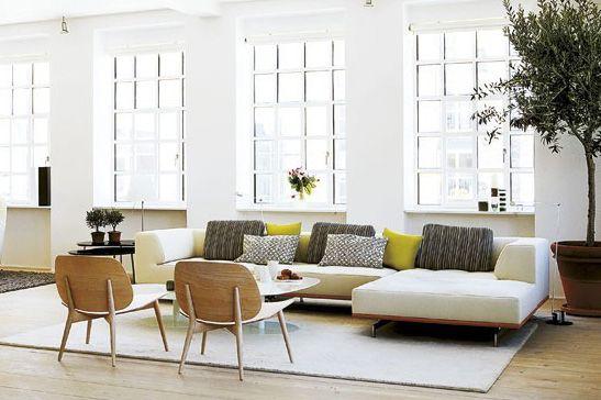 modern bohemian decor modern city apartment - Google Search