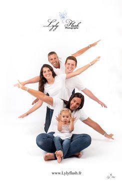 Portrait de famille , photo en famille studio photographe