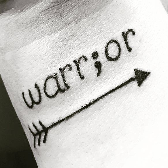 I was battling post partum depression months after I gave birth. Constantly reminding myself that I was worth it. That I was worth to mother a baby. I believe every person who did go through all of this shitty feeling is a warrior. Do not stop speaking. You have every right to write your endless story in between. #warrior #projectsemicolon