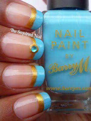 Jasmine inspired nails will make you feel like a Disney Princess.