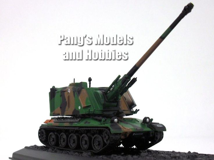 AMX-30 AuF1 Self Propelled Artillery 1/72 Scale Die-cast Model by Amercom