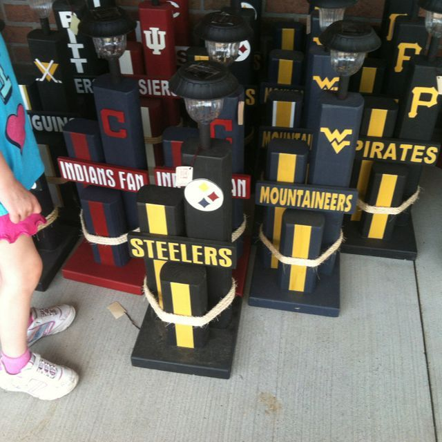 Here we go Steelers, here we go!  (And the Mountaineers and Pirates) #ad