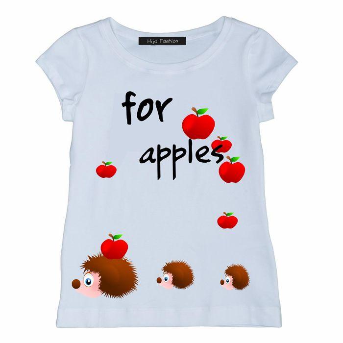 Bambina : T-shirt manica corta ricci Made in Italy confezione artigianale