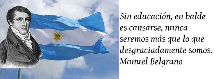 Manuel Belgrano Creador De L Bandera Argentina