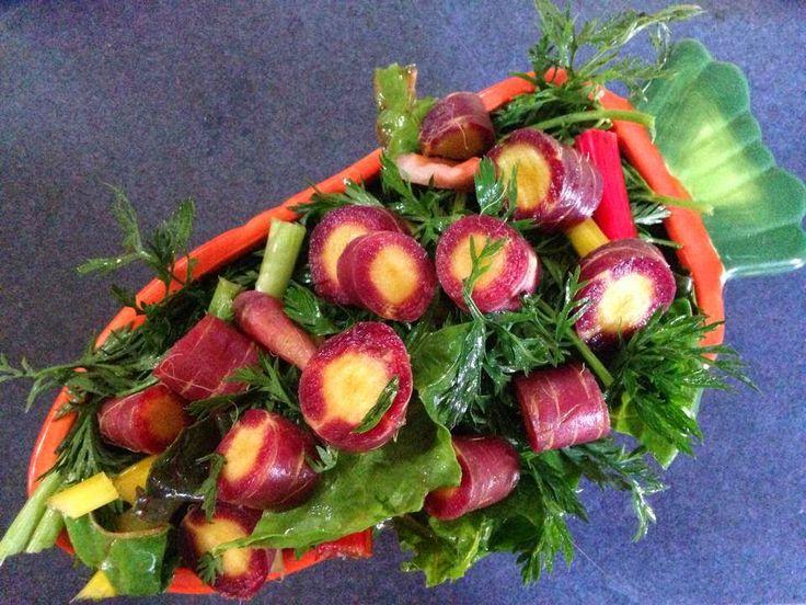 Veggie and Fruit list for feeding guinea pigs.