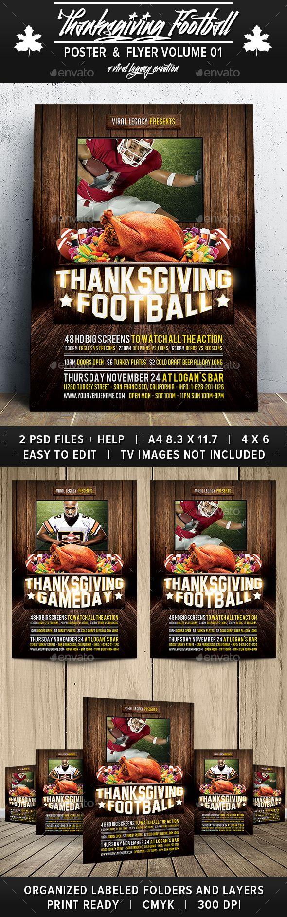 Thanksgiving Football V01