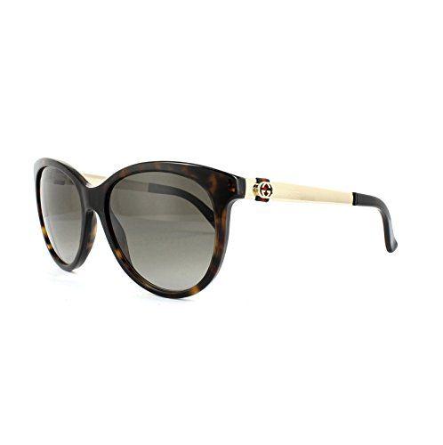 7b01e5e02c77b Gucci sunglasses GG 3784  S ANTHA Acetate plastic Havana - Gold Brown  Gradient - The Sterling Silver Com