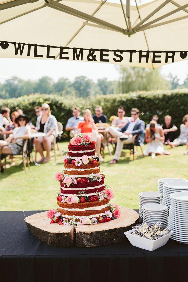 Zijn naked cakes niet super? Foto: Madame Poppy